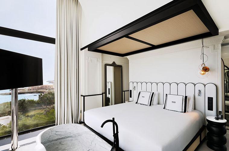 U interior design hotel bless en ibiza