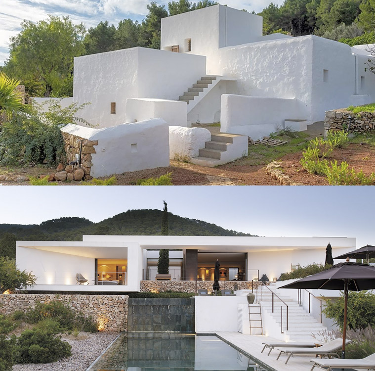La transición arquitectónica en Ibiza